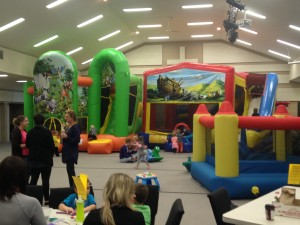 A picture from our first Kid'sMorningOut on Nov. 14!